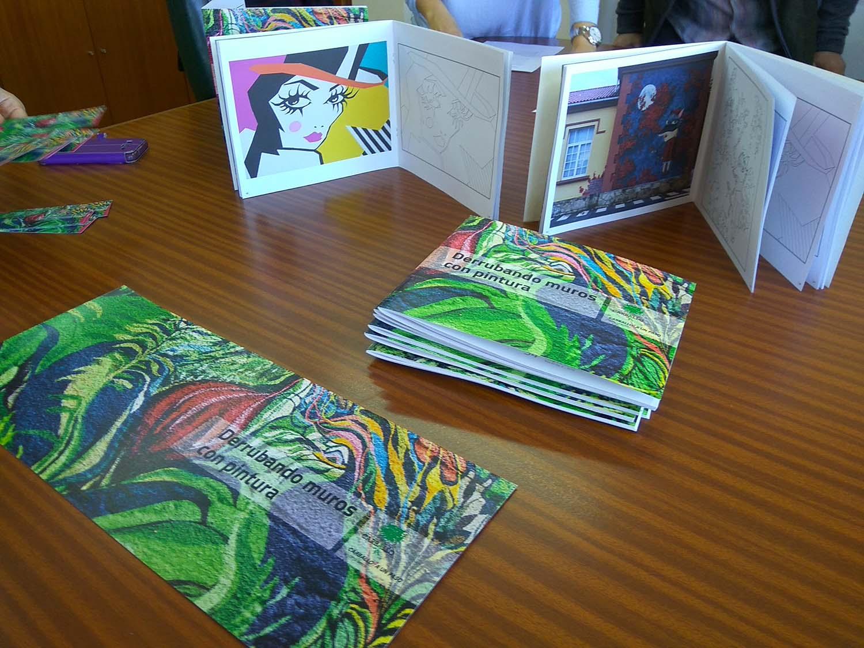 Editamos un cuaderno de dibujo para colorear los murales de ...